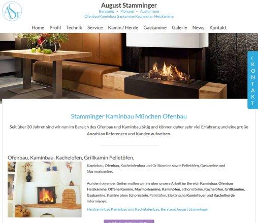 Kaminbau München august stamminger kaminbau kamin münchen
