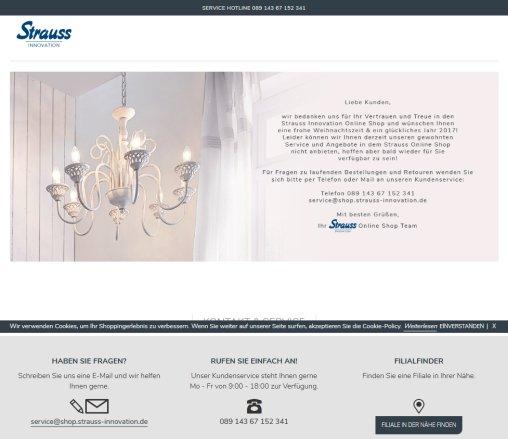 Strauss Innovation Online Shop â Strauss Langenfeld