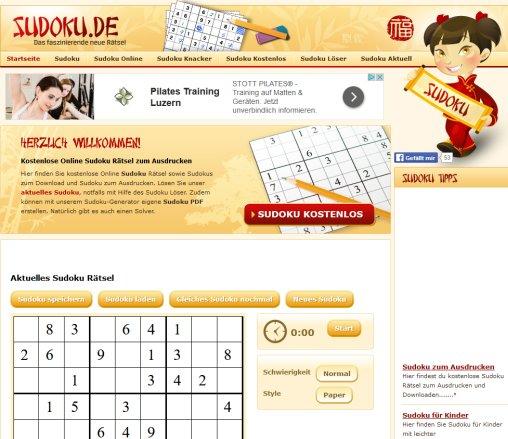 Sudoku Online Kostenlose Sudoku Lüneburg
