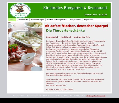 Berühmt Tiergartenschänke Hannover Ideen - Hauptinnenideen ...