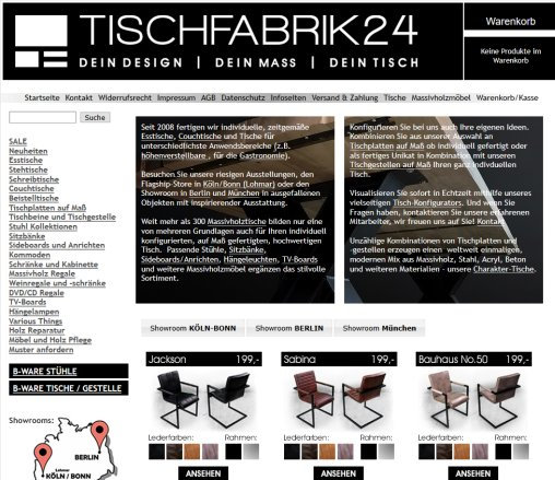 tischfabrik24 gmbh co kg m bel berlin. Black Bedroom Furniture Sets. Home Design Ideas