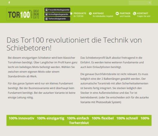 Tor 100 Erfahrungen