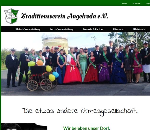 TV Angelroda | Home Traditionsverein Angelroda e.V. Öffnungszeit