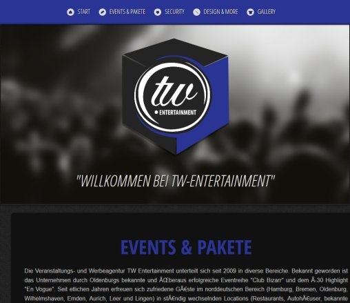 TW   Service / Events / Marketing / Social Network  Öffnungszeit