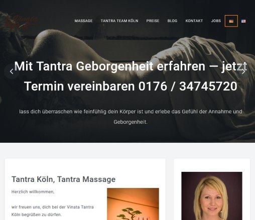 Köln tantramassagen Vinata Tantramassage