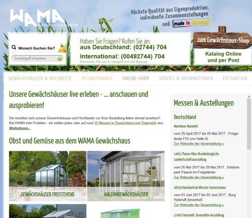 Gewachshaus Blockhaus Gartenhaus Wama Wama Herdorf