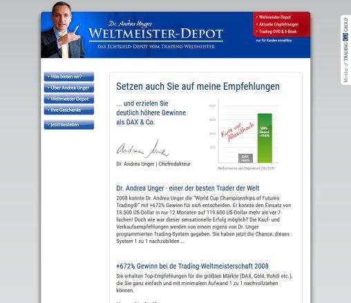 Weltmeister Depot Jetzt Nachbilden Trading Amberg