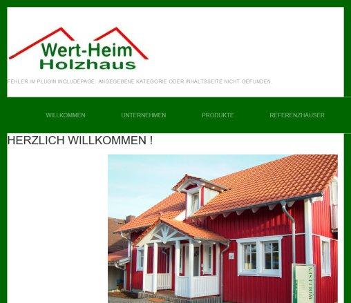 Wert Heim Holzhaus › Holzhäuser Wertheim