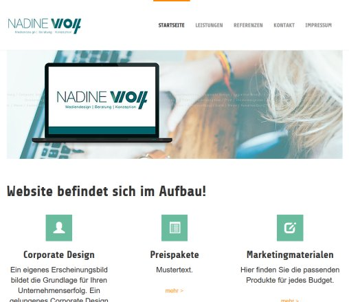 Wolf Mediendesign: TYPO3 CMS 6.2   Introduction Package  Öffnungszeit