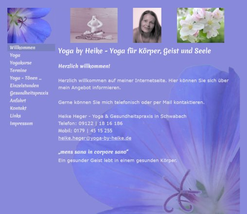 Heike Heger Yoga Schwabach