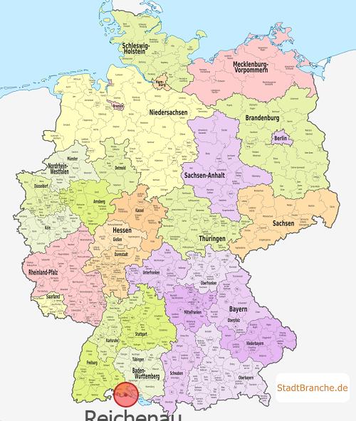 Insel Reichenau Karte.Reichenau Landkreis Konstanz Baden Württemberg