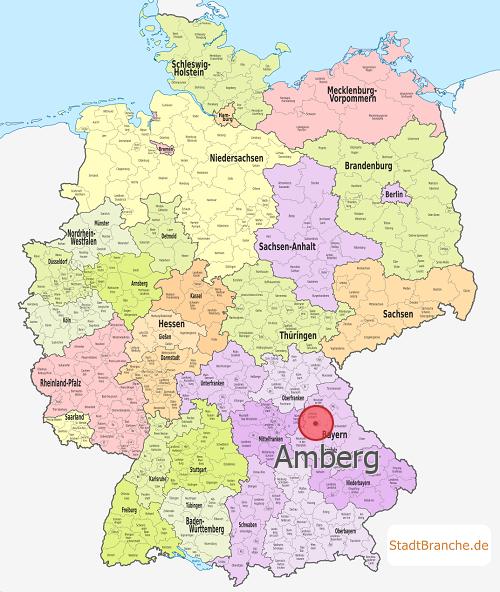 Amberg › Kreisfreie Stadt Amberg › Bayern