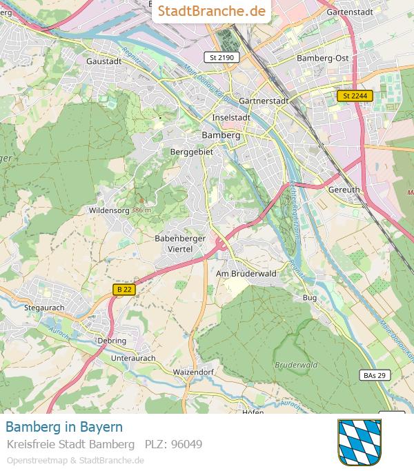 Karte Bamberg Landkarte.Augusta Ferienwohnung Im Minuten Bamberg